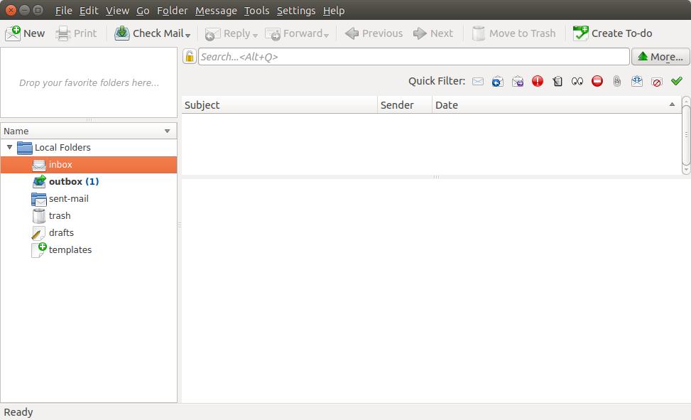 Linux e-Mail client applications