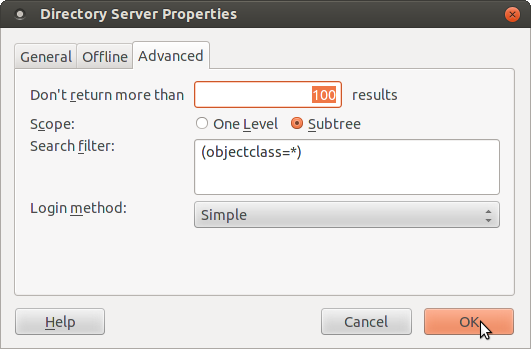 Linux LDAP Tutorial: Using eMail clients with an LDAP Directory
